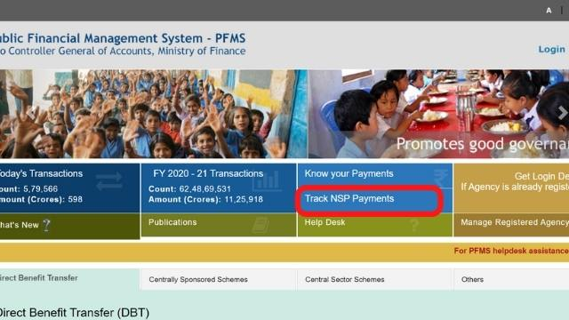 NSP Payment check