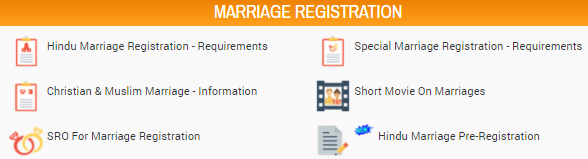 IGRS Telangana marriage registration