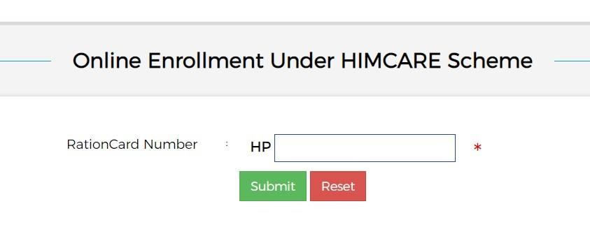 Himcare card application form