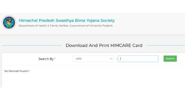 Himcare card print and download