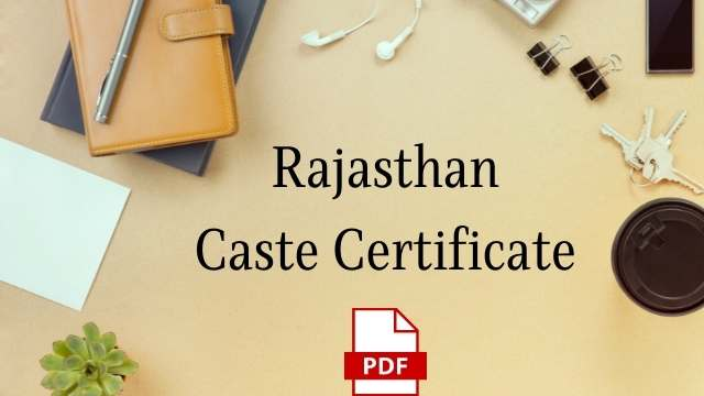 Read more about the article Caste certificate form 2021: राजस्थान जाती प्रमाण पत्र, jati praman patra form (PDF download) Rajasthan