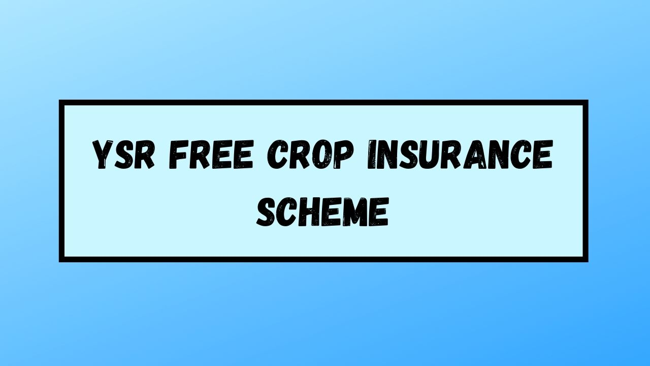 Read more about the article (Apply) YSR Free Crop Insurance Scheme 2021: Beneficiary List & Status